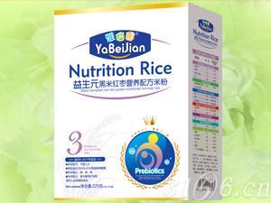 益生元黑米红枣营养配方米粉
