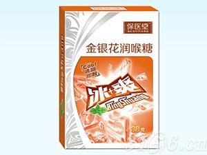 金银花润喉糖(纸盒)