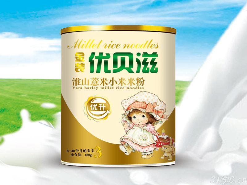 淮山薏米小米米粉听装