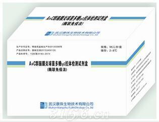 a+c流脑病毒疫苗抗体检测试剂盒
