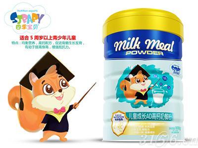 儿童成长AD高钙奶餐粉