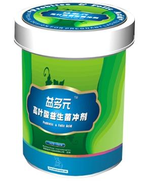 益多元高叶酸益生菌冲剂罐装