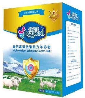 佰必佳圣唐中老年配方羊奶粉400g盒装