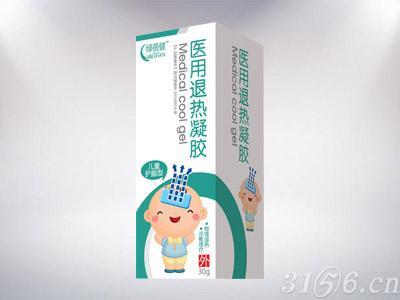 医用退热凝胶儿童护脑型