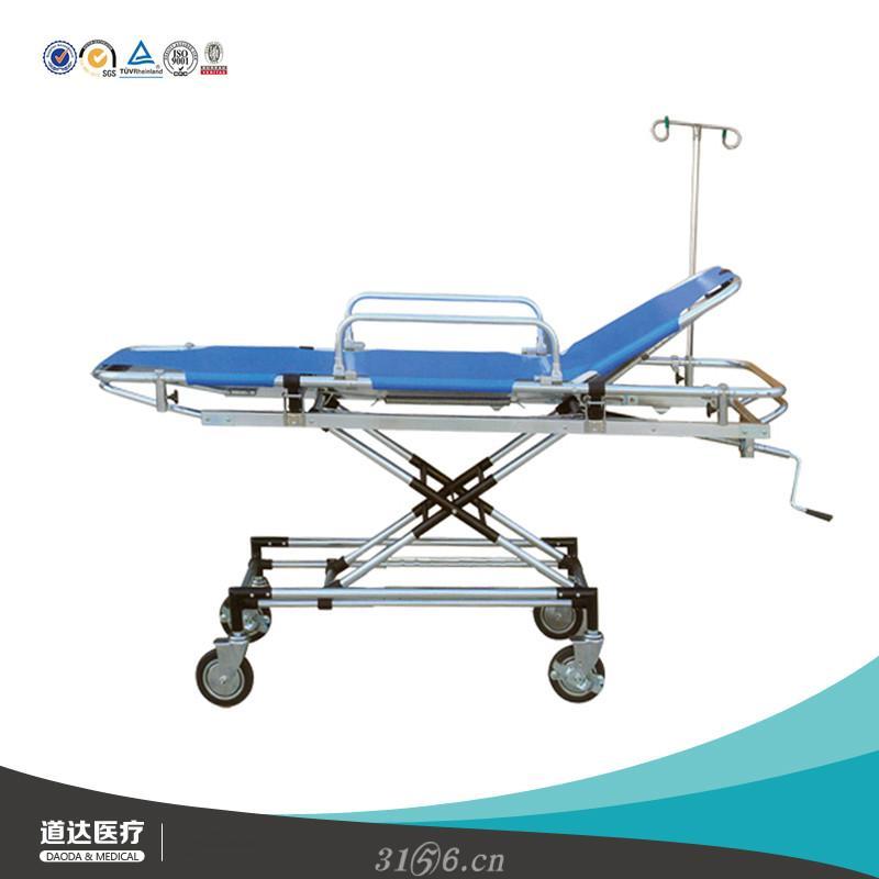 医院用救护车担架病人转运输送担架铝合金救护车担架推车