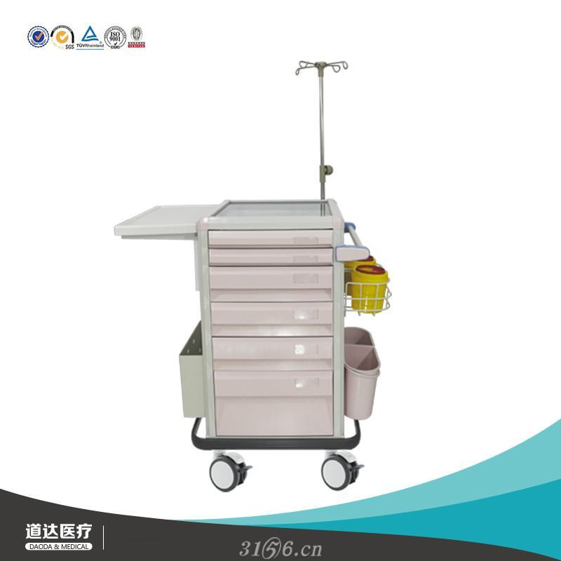 医院护理急救手推车医院救护专用器械车抢救多功能设备推车