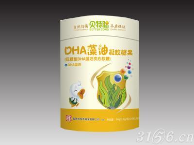 DHA藻油凝膠糖果